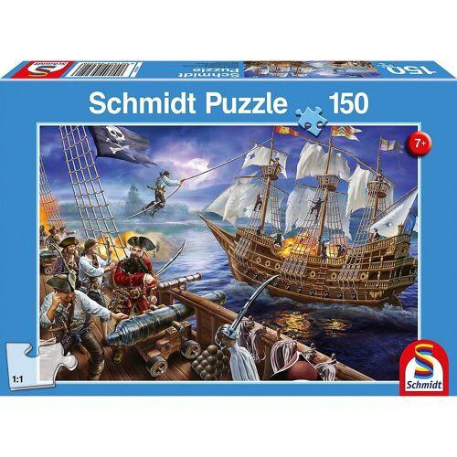 Schmidt Spiele Puzzle »Puzzle 150 Teile Abenteuer mit den Piraten«, Puzzleteile