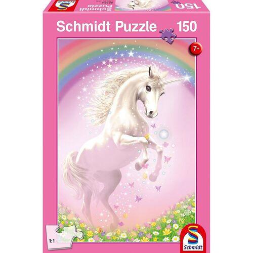 Schmidt Spiele Puzzle »Puzzle 150 Teile Rosa Einhorn«, Puzzleteile