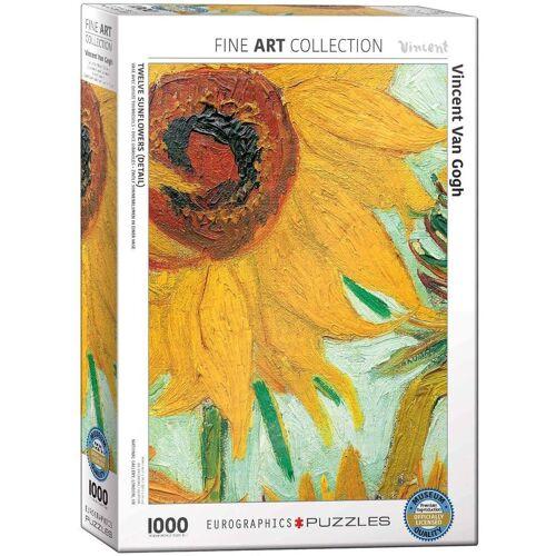 empireposter Puzzle »Vincent van Gogh - Sonnenblumen - 1000 Teile Puzzle im Format 68x48 cm«, 1000 Puzzleteile