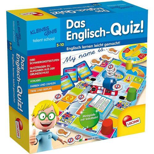Lisciani Lernspielzeug »Kleines Genie Das Englisch-Quiz«