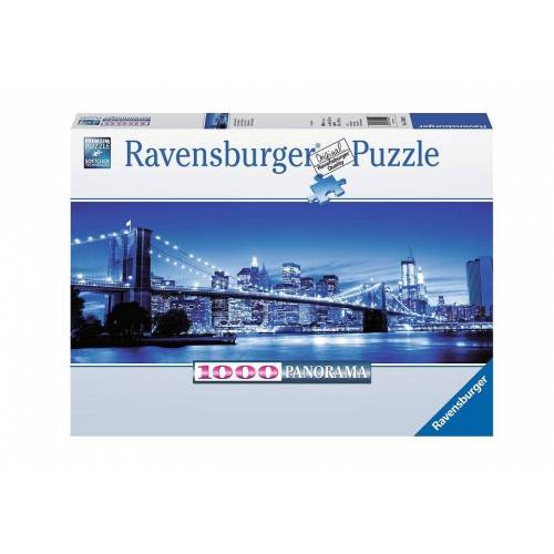 Ravensburger Puzzle »Leuchtendes New York«, 1000 Puzzleteile, Made in Germany