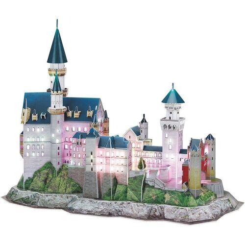 Revell® 3D-Puzzle »3D-Puzzle Schloss Neuschwanstein-LED Edition«, Puzzleteile