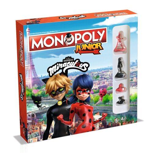 Winning Moves Spiel, Brettspiel »Monopoly Junior Miraculous«