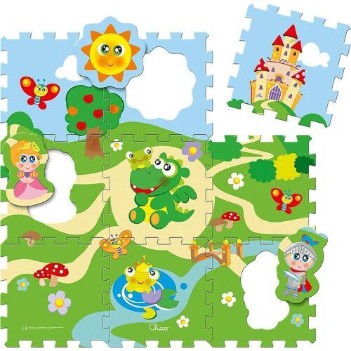 Chicco Puzzlematte »Puzzlematte Schloss 9-tlg.«, Puzzleteile
