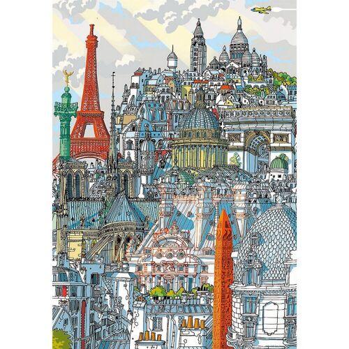 Educa Puzzle »Citypuzzle Paris, 200 Teile«, Puzzleteile