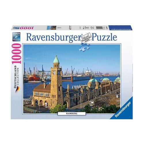 Ravensburger Puzzle »Hamburg«, 1000 Puzzleteile, Made in Germany
