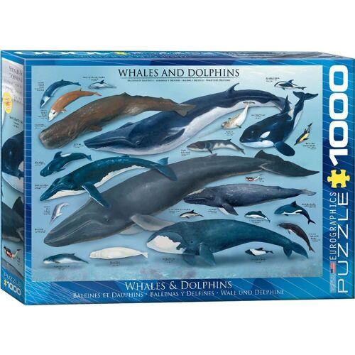 empireposter Puzzle »Wunder des Meeres - Wale und Delphine - 1000 Teile Puzzle im Format 68x48 cm«, Puzzleteile