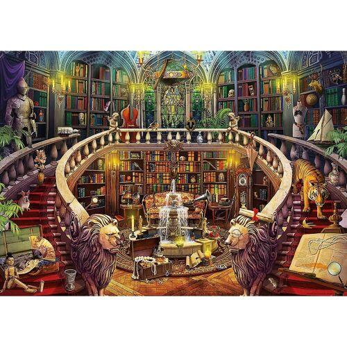 Educa Puzzle »Rätsel-Puzzle Alte Bibliothek, 500 Teile«, Puzzleteile