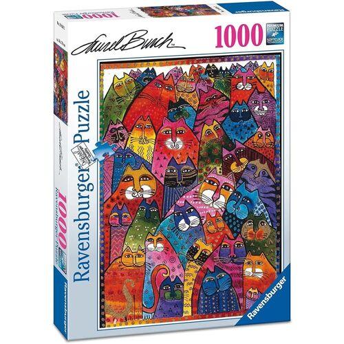 Ravensburger Puzzle »- Fantastici felini, 1000 Teile Puzzl«, 1000 Puzzleteile