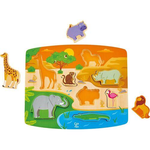 Hape Steckpuzzle »Steckpuzzle Wildnis«, Puzzleteile