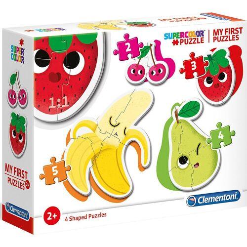 Clementoni® Puzzle »My frist Puzzles 2/3/4/5 Teile - Früchte«, Puzzleteile