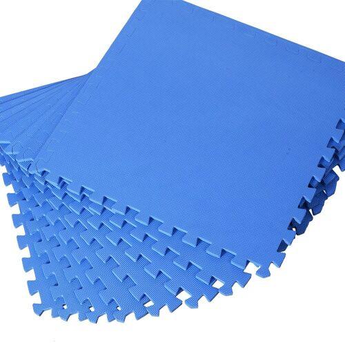 HOMCOM Puzzlematte »Puzzlematte als 8-teiliges Set«, Puzzleteile, blau