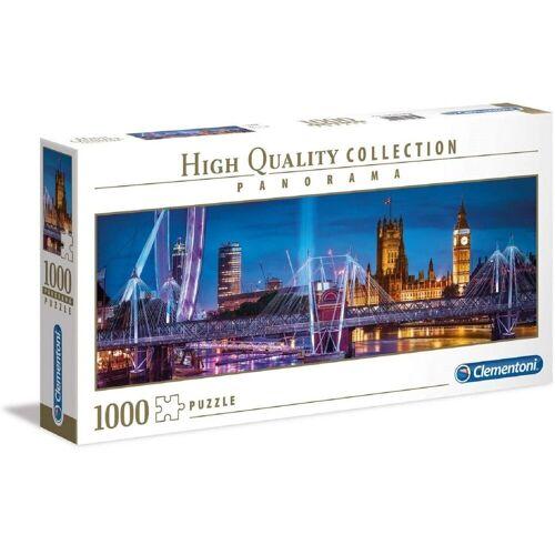 Clementoni® Puzzle »Clementoni - London Panorama, 1000 Teile Puzzle«, 1000 Puzzleteile