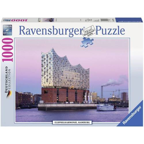 Ravensburger Puzzle »Elbphilharmonie Hamburg«, 1000 Puzzleteile, Made in Germany