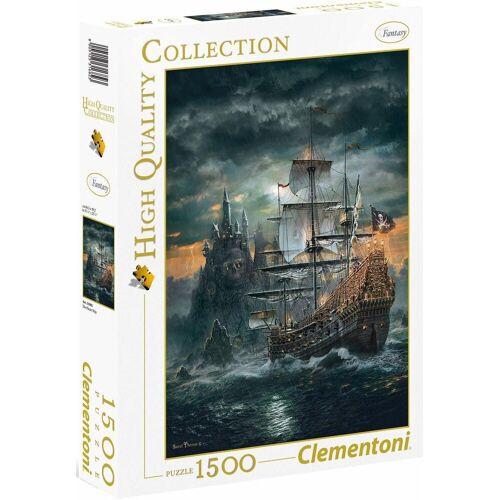 Clementoni® Puzzle »Das Piratenschiff«, 1500 Puzzleteile