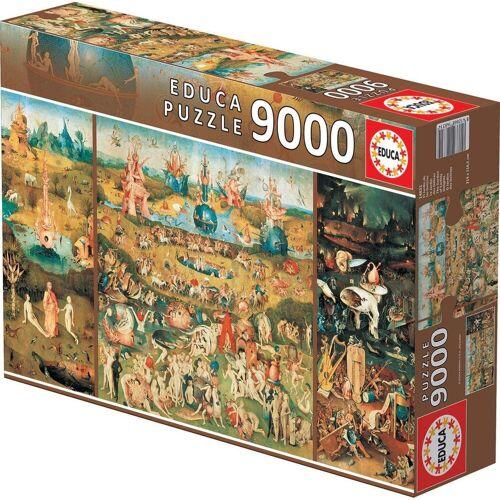 Educa Puzzle »DER GARTEN DER LÜSTE«, 9000 Puzzleteile