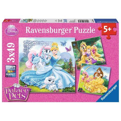 Ravensburger Puzzle »Disney Palace Pets Belle, Cinderella Und Rapunzel«, 147 Puzzleteile