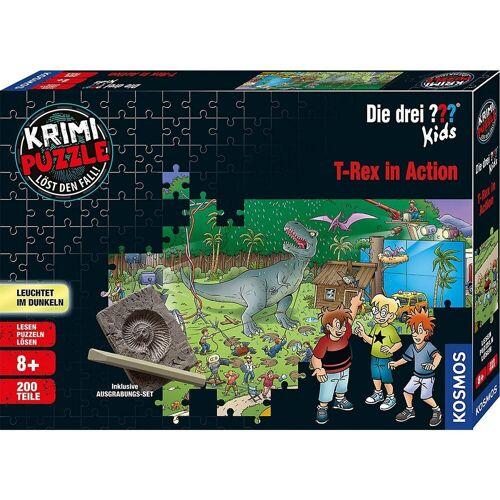 Kosmos Puzzle »Krimi Puzzle: Die drei ??? Kids 200 Teile - Dinos«, Puzzleteile