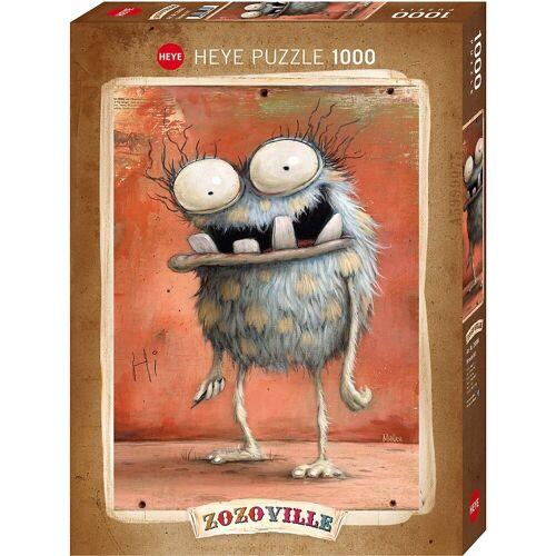 HEYE Puzzle »Puzzle Monsta Hi!, 1000 Teile«, Puzzleteile