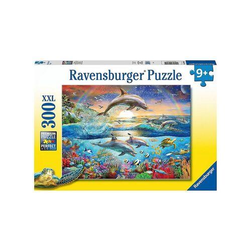 Ravensburger Puzzle »Puzzle Delfinparadies, 300 Teile«, Puzzleteile
