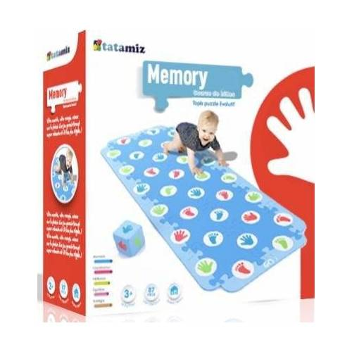 tatamitz Puzzle »Krabbel Memory«, 51 Puzzleteile