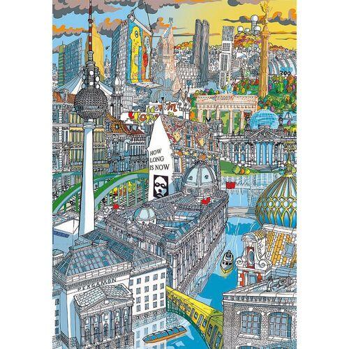 Educa Puzzle »Citypuzzle Berlin, 200 Teile«, Puzzleteile