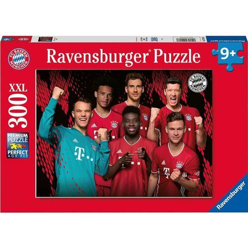 Ravensburger Puzzle »Puzzle FC Bayern Saison 2020/21, 300 Teile«, Puzzleteile