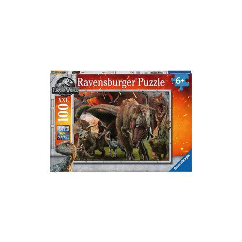 Ravensburger Puzzle, 100 Teile XXL, 49x36 cm, Jurassic World 2