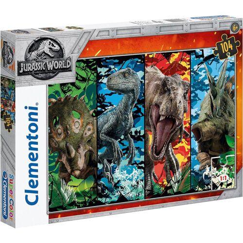 Clementoni® Puzzle 104 Teile - Jurassic World