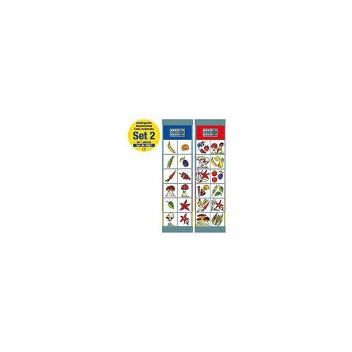 Magnetspiele Lernspielzeug »Flocards Set 2: Kindergarten ab 4 Jahre«
