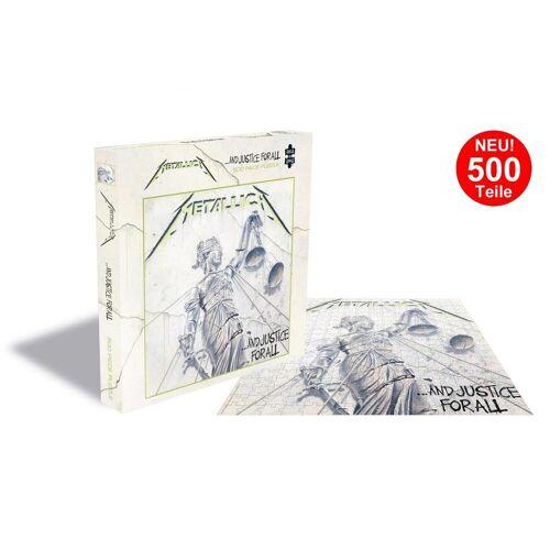 empireposter Puzzle »Metallica And Justice For All - 500 Teile LP Cover Puzzle im Format 39x39 cm«, 500 Puzzleteile