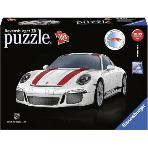 Ravensburger 3D-Puzzle »Porsche 911 R«, 108 Puzzleteile, Made in Europe