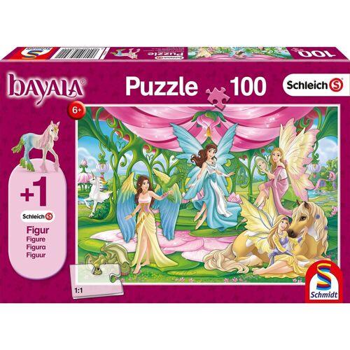 Schmidt Spiele Puzzle 100 Teile Schleich Bayala, Im Kronsaal von Bayala + F