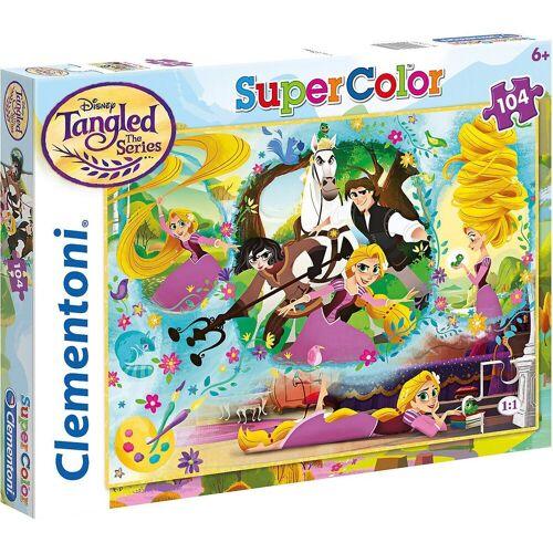 Clementoni® Puzzle »Puzzle 104 Teile - Rapunzel«, Puzzleteile