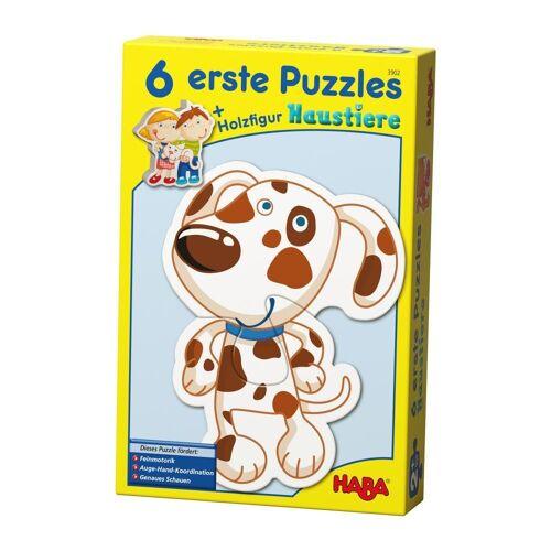 Haba Puzzle »Erstes Puzzle Haustiere 13-tlg.«, 12 Puzzleteile