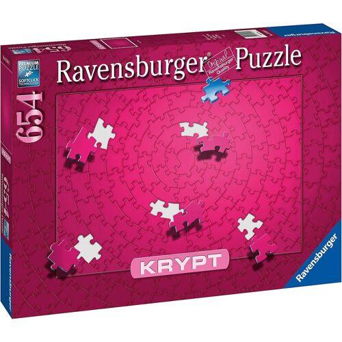 Ravensburger Puzzle »Puzzle Krypt Pink, 654 Teile«, Puzzleteile