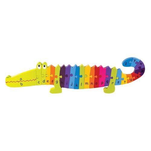 Nici Konturenpuzzle »ABC Puzzle Krokodil«, 24 Puzzleteile