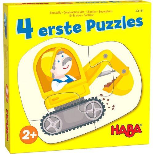 Haba Puzzle »4 erste Puzzles – Baustelle«, Puzzleteile