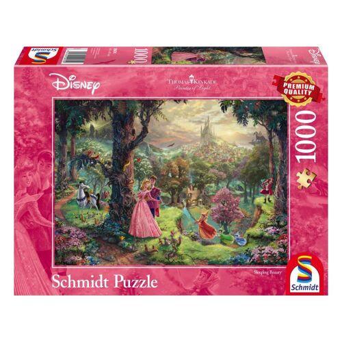 Schmidt Spiele Puzzle »Disney Dornröschen Thomas Kinkade«, 1000 Puzzleteile