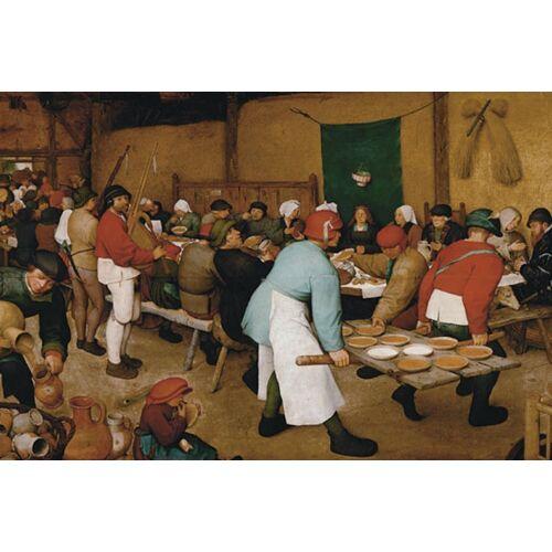 Piatnik Puzzle »Bruegel d.Ä., Bauernhochzeit«, 1000 Puzzleteile