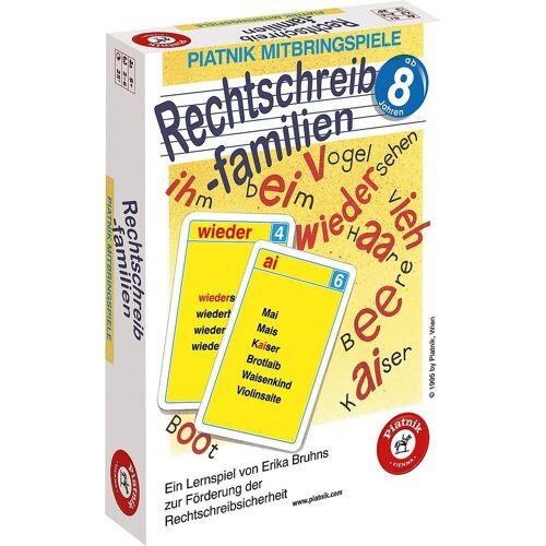 Piatnik Lernspielzeug »Rechtschreibfamilien«