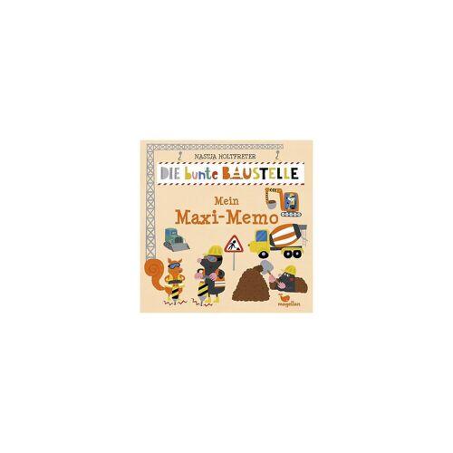 Die bunte Baustelle - Mein Maxi-Memo (Kinderspiel)
