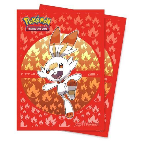 POKÉMON Sammelkarte »Pokémon Sammelkartenspiel - HOPPLO - Standard Kartenhüllen - 65 Stück«