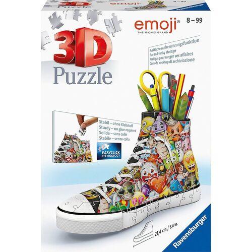 Ravensburger 3D-Puzzle »3D-Puzzle Emoji Sneaker, 108 Teile«, Puzzleteile