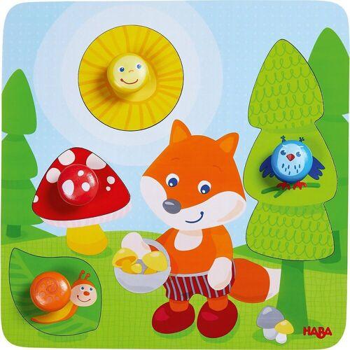 Haba Steckpuzzle »305204 Greifpuzzle Fuchs«, Puzzleteile