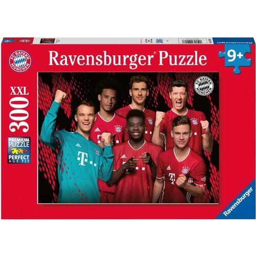 Ravensburger Puzzle »FC Bayern Saison 20/21«, 300 Puzzleteile, Made in Germany, FSC® - schützt Wald - weltweit