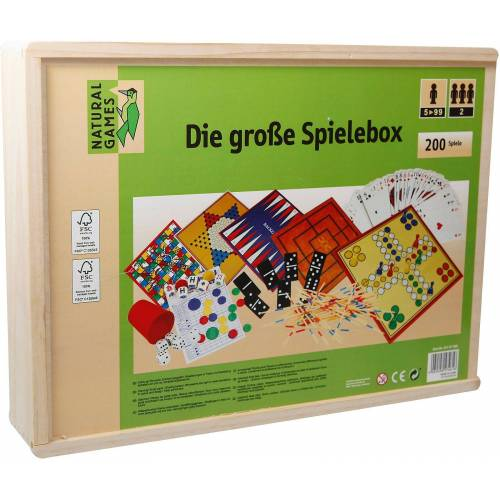 Natural Games Spielesammlung, »Holz-Spielesammlung«