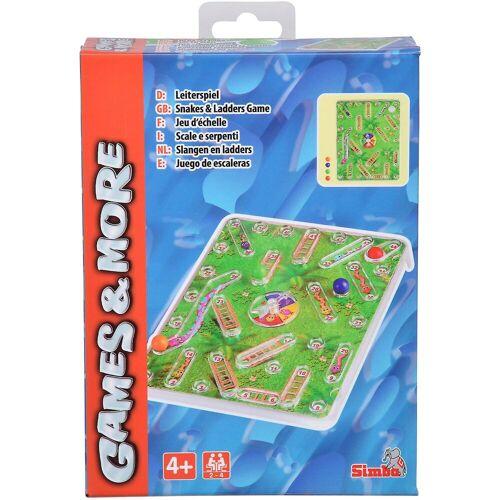 SIMBA Games & More Reisespiel Leiterspiel