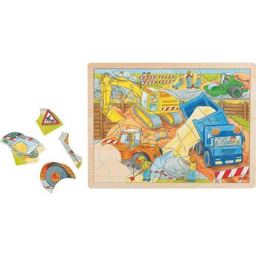 HEIMESS Puzzle »Einlegepuzzle Baustelle«, Puzzleteile