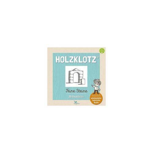 Magellan Holzklotz - Feine Steine: 30 Bauklötze